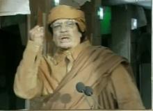 Gaddafi / wikipedia