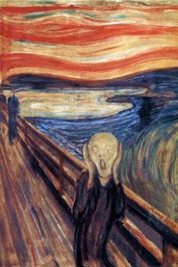 Edvard Munch, Strigatul