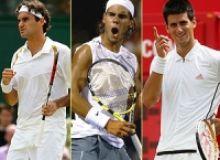 Federer-Nadal-Djokovic/betusopen.com