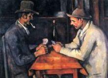 Jucatorii de carti - Paul Cezanne/vanityfair.com