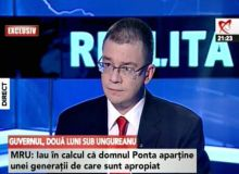 Mihai Razvan Ungureanu la Realitatea TV/Hotnews.ro.jpg