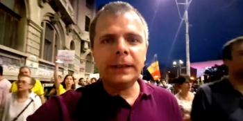 Protestatarii îi dau LOVITURA lui Mălin Bot după ce a făcut duminică