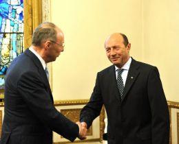 Traian Basescu, Wolfgang Ruttenstorfer