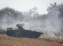 Militarul a fost ranit de suflul deflagratiei unui dispozitiv exploziv improvizat/mapn.ro