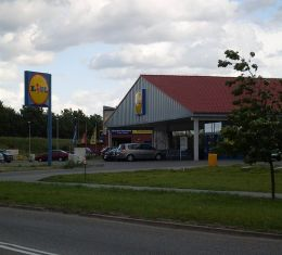 Magazin Lidl in Polonia
