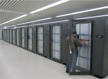 Ansamblu de procesoare NVIDIA, in configuratie de supercomputer