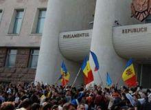 Revolutia din 2009, de la Chisinau.