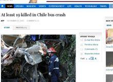 Pilotii celor doua vehicule au murit pe loc/captura Vancouver Sun