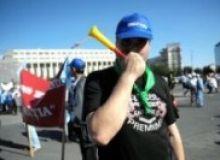 Functionarii se pregatesc de protest/captura antena3.ro