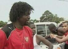 Atacantul Emmanuel Adebayor se afla in autocarul atacat la Cabinda / cbc.ca