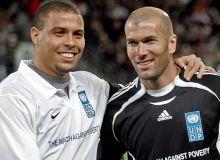 Ronaldo si Zinedine Zidane / tribune.com.pk