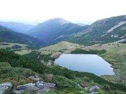 Lacul Lala Mare din Parcul National Retezat