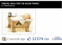 Povestea Nasterii Domnului, varianta Facebok/ captura foto YouTube