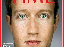 Mark Zuckerberg, pe coperta revistei Time, drept