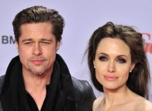Angelina Jolie si Brad Pitt/Mediafax