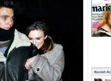Keira Knightley si Rupert Friend/captura marieclaire.co.uk