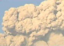 Ultima mare eruptie in zona Kirishima, a avut loc in 1959/captura Youtube