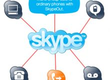 Skype ramane cel mai popular serviciu de telefonie prin internet.