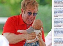 Elton John/captura dailymail.co.uk