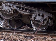 Vagonul unui tren de marfa a deraiat la Valea Alba, judetul Mehedinti/romania-actualitati.ro.