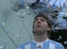 Leo Messi in spotul adidas/creativereview.co.ukg