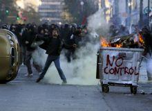 Protestele violente s-au inmultit in Grecia.jpg/reddit.com