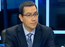 Victor Ponta/ Antena3
