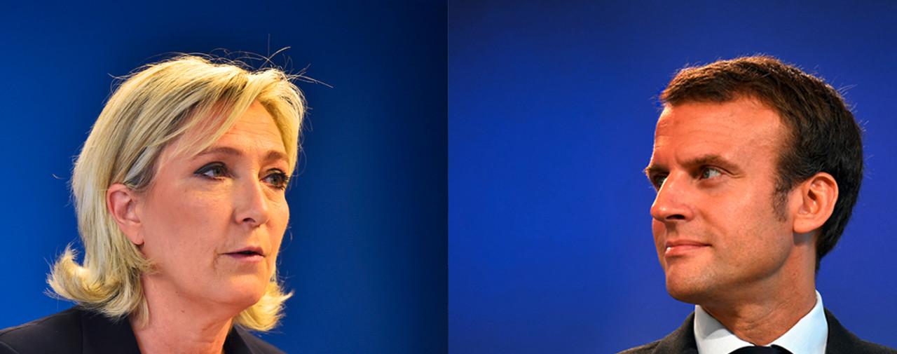 Emmanuel Macron și Marine Le Pen s-au confruntat într-o dezbatere televizată