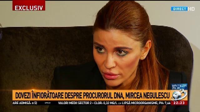 Andreea Cosma: Negulescu mi-a dat control judiciar pentru că era gelos