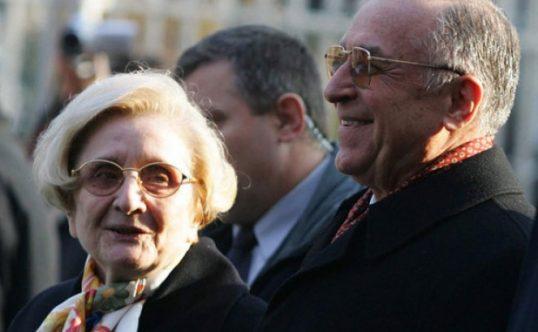 Detaliu interesant! Ce pensie are ACUM soția fostului președinte Ion Iliescu, Nina