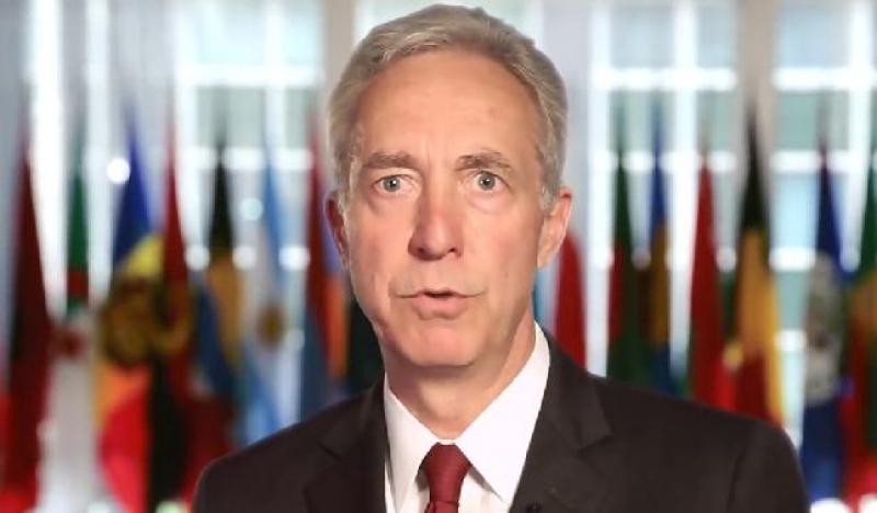 Ambasadorul SUA la Bucureşti, Hans Klemm, la Guvern pentru o întâlnire cu premierul Dăncilă