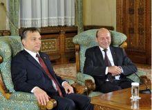 Traian Basescu-Victor Orban Foto: presidency.ro
