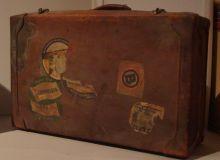 Una din valizele cu care Brancusi a traversat Atlanticul/Gina Dinu