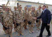 Traian Basescu in Afganistan, in martie 2010/presidency.ro