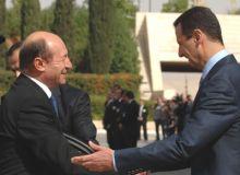 Traian Basescu si Bashar al Assad.Foto: presidency.ro
