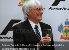 Bernie Ecclestone / captura site Mediafax