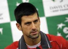 Novak Djokovic / daylife.com