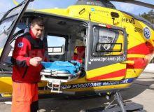 Elicopter EC-135 serviciul urgenta polonez/Corect News