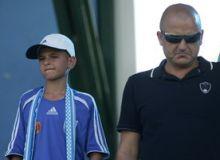 Adrian Mititelu si fiul sau, Gigi / sport.ro