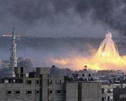 Atac israelian in Gaza, in decembrie 2008