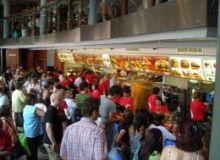 Romani la restaurant fast-food