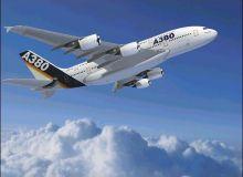 Airbus A380, cel mai mare avion de pasageri din lume.