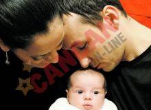 Analia Selis, sotul si fetita lor/Cancan