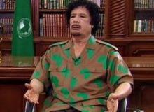 Gaddafi / metro.co