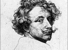 Pictorul Van Dyck, schita