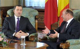 Vlad Filat si Traian Basescu