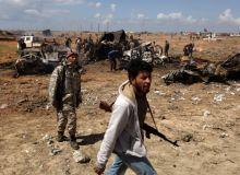 rebeli libieni / Mediafaxfoto.ro