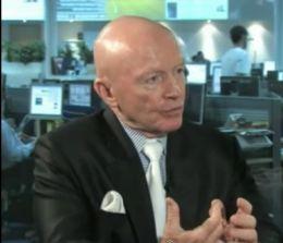 Presedintele executiv pentru piete emergente la Templeton Asset Management, Mark Mobius