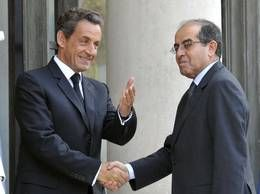 Nicholas Sarkozy si liderul CNT