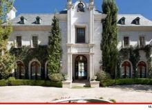 Casa in care a trait si a murit Michael Jackson/ tmz.com
